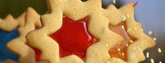 Рецепты на Новый год. Как приготовить печенье Зимние окна