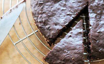 Рецепты на Новый год. Шоколадный пирог рецепт