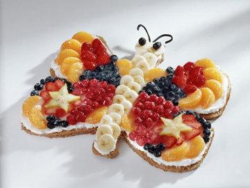Как украсить торт Бабочка