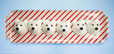 Рецепты к Новому году. Как приготовить печенье для детей Белые медведи