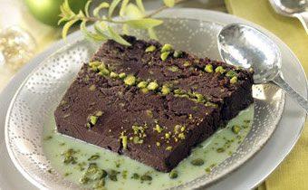 Рецепты на Новый год. Шоколадный пирог с орехами - без выпечки