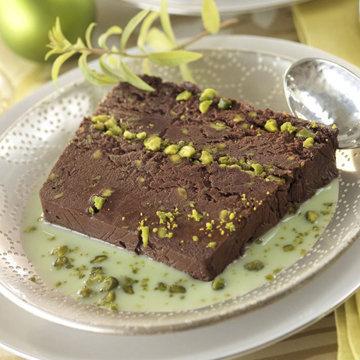 Шоколадный пирог с орехами - без выпечки