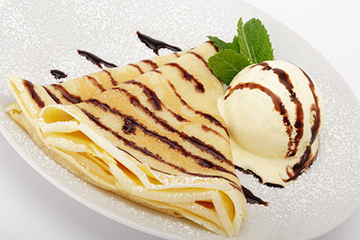 Блины на десерт