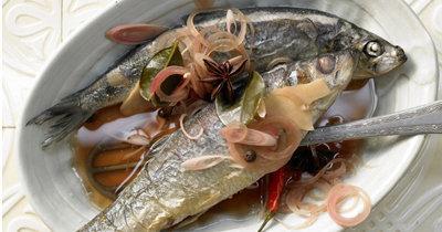 Как приготовить сельдь в маринаде - на азиатский манер