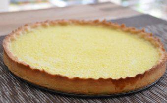 Рецепты для сыроедов. Тарт лимонный