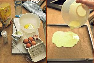 Рецепт блинов для начинки - 1