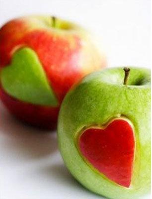 Романтические яблочки