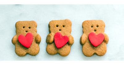 День св. Валентина. Простой рецепт печенья, но какой красивый