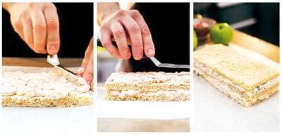 Как приготовить Smörgåstårta торт-закуску - 1