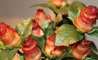 Мужская еда - оригинальная закуска Роза