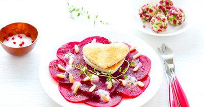 Салат из свеклы рецепт ко Дню св. Валентина