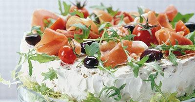 Smörgåstårta - рецепты закусок на праздничный стол
