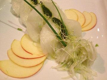 Подать овощные вареники