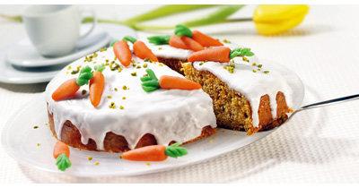Праздничное меню на Пасху. Морковный торт рецепт и подача