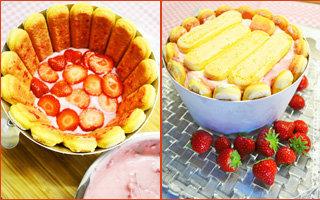 Приготовить ягоды и положить их на крем