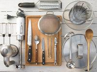 Приготовьте кухонные принадлежности