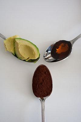 Шоколадный мусс с авокадо