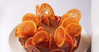 Апельсиновый торт. Как украсить торт