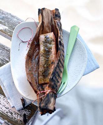 Готовить рыбу в бумаге