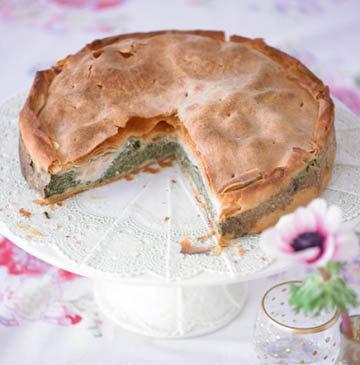 Пирог со шпинатом по-итальянски