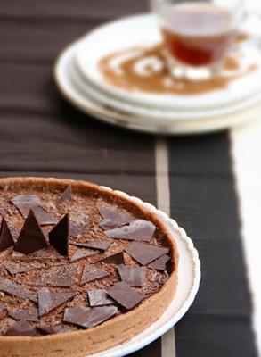 Шоколадный пирог с кофе - просто бомба по вкусу!