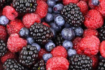 300 г смеси ягод
