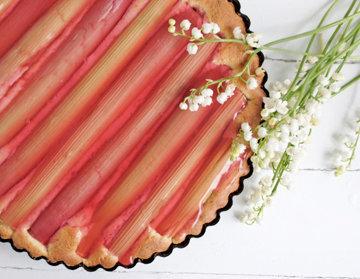 Пирог с ревенем - самая что ни на есть весенняя выпечка