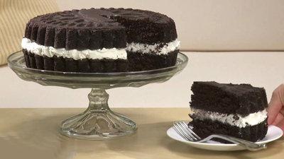 Как испечь торт Орео