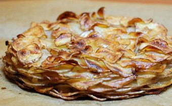Рецепт картофельной запеканки с луком