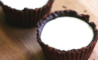 Рецепт шоколадного печенья Чашка с молоком
