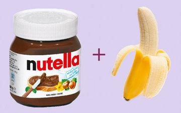 Домашнее мороженое из банана и Нутеллы