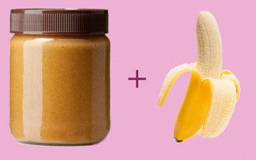 Домашнее мороженое из банана и арахисового масла