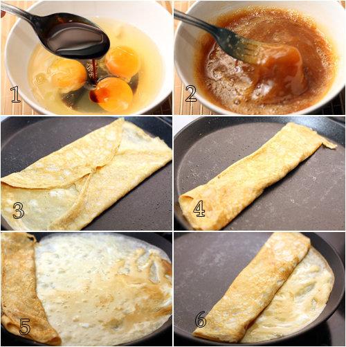 Подробно о том, как же готовить японский омлет