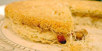 Простой рецепт пирога из Турции Волосы ангела