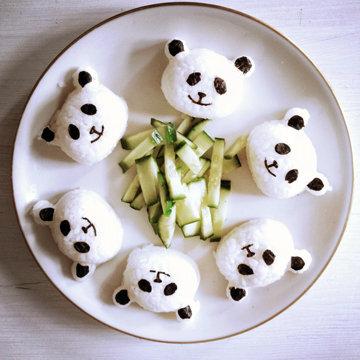 Суши рецепт панда мишек 1