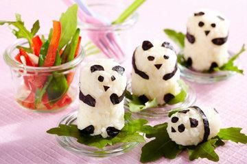 Суши рецепт панда мишек 2