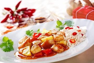 Кисло-сладкий соус для курицы по-азиатски 1
