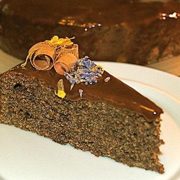 Маковый торт с тыквой 1
