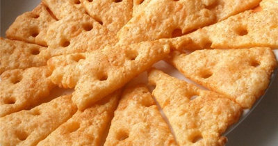 Крекер. Крекеры рецепт с сыром