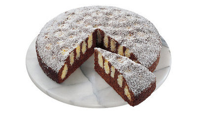 Оформление тортов. Торт с творожными шариками 3