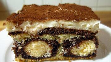 Оформление тортов. Торт с творожными шариками 5