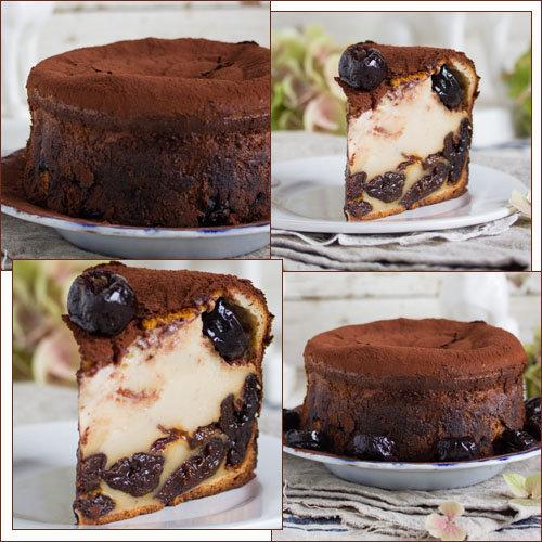 Рецепт из Франции, бретонский пирог сливовое счастье