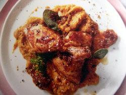 Тушеная курица рецепт с карамельным луком