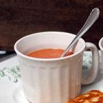 Постный суп - с помидорами