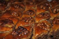 блинный пирог аля Пахлава