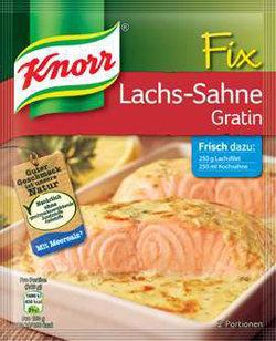 1 пакетик (29 г) порошка для соуса для рыбного гратена