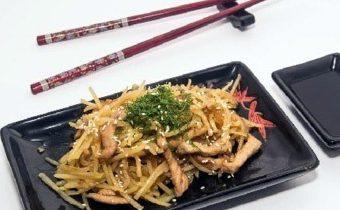 Постные салаты картофель по-корейски камди-ча