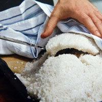 удалить солевой панцирь