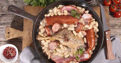 Суп фасолевый с мясом Cassoulet