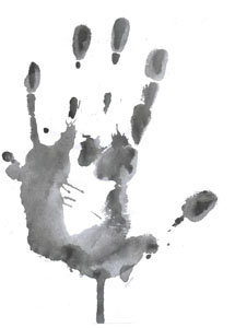 загрязненные руки